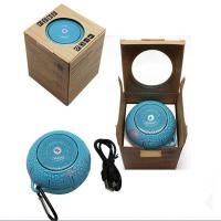Best A8 Mini wireless bluetooth Car Speaker ball outdoor sports bicycle speaker with FM TF card wholesale