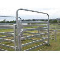 Best Heavy Duty Galvanized Cattle Yard Horse Fence Panel Gate Line Post 50MM wholesale