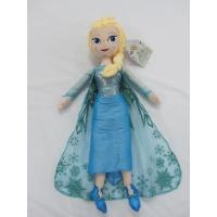 Best Blue Frozen Elsa Plush Doll Disney Princess Toys in 40cm 50cm Size wholesale
