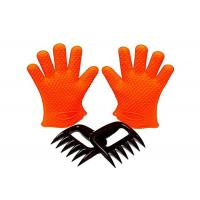 Best Grilling BBQ Silicone Gloves Set 1 Paris Gloves + Bear Meat Claws wholesale