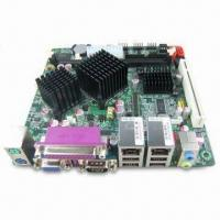 Best Mini-itx Motherboard 945GSED with Onboard Intel Atom N270 Processor, Dual LAN, Supports LVDS and VGA wholesale