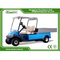 Best 2 Seater Hotel Buggy Car , Electric Utility Golf Carts 100% Waterproof Accelerator wholesale