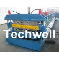 Best Automatic PLC Control Dual Level Roll Forming Machine With Manual / Automatic Decoiler wholesale