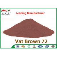 Best C I Vat Brown 72 Brown GG Chemical Dyes Used In Textile Industry 100% Strength wholesale