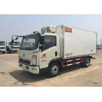 Best Euro 2 5 Ton Refrigerated Truck For Frozen Foods Transporting XL-300  -18 Degree wholesale