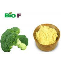 China Anti - Cancer Broccoli Extract Supplement Glucoraphanin 10% Solvent Extraction on sale