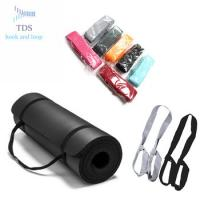 China Non Slip Yoga Elastic Strap Lightweight Cotton Yoga Mat Holder Strap / Belt on sale