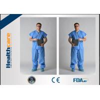 Best Nonwoven Disposable Hospital Scrubs Protective Clothing For Operation Room wholesale