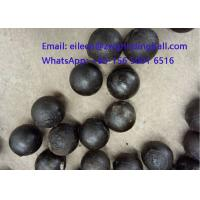 Best High Chrome Cr 10% Cast Iron Steeel Balls for mining grinding wholesale