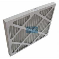 Best Galvanized Prime High Flow Air Filter Non Woven Cloth Filter Media 95% Efficiency wholesale