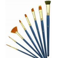 Best Customized Logo 4 Inch Artist Painting Brushes Liner Brushes For Oil Painting wholesale