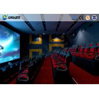 Cheap Electronic 4D Theater System 4D Motion Chair Surrounding Environment Simulation for sale