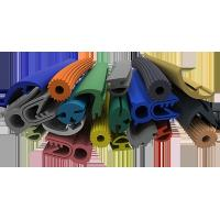 Best Multi Color Silicone Extruded Rubber Profiles Chemically Extremely Stable wholesale