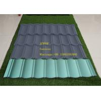 Best Corrugated Steel Roofing Sheets Installed size 1290*370mm Thickness Smoky Gray Color wholesale