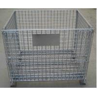Buy cheap Storage Cage,Wire Mesh Container,Supermarket Mesh Container,Mesh Basket,50x50mm from wholesalers