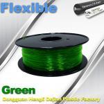 Best Green 0.8kg / Roll Flexible 3D Printer Filament Environmentally Friendly wholesale