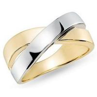 Best 14K White and Yellow Gold Ring wholesale