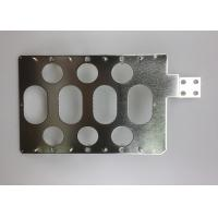China Multi Holes Tin Plated Copper Sheet / Custom Electrical Grade Copper Bar on sale