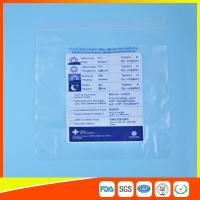 Best Reclosable Plastic Ziplock Pill Bags Self Seal , Clear Resealable Poly Bags wholesale
