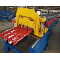 Best Color Steel Plate Aluminium Glazing Roofing Tile Forming Machine 18 Rows wholesale