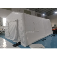 Best 6m Portable Red Cross Inflatable Medical Emergency Tent For Outdoor wholesale