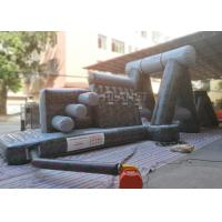 Best Giant Inflatable Obstacle Course 0.55 Mm PVC Tarpaulin For Entertainment wholesale