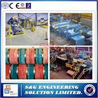 Best 5T Capacity Aluminum Slitting Machine , Steel Coil Packing Machine Loop Control wholesale