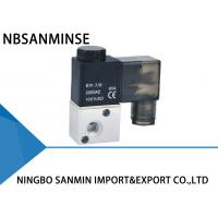 Quality High Speed Pneumatic Solenoid Valve , 3 2 Pneumatic Valve Sanmin 3V1 Series wholesale