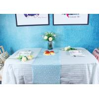 Best Peppermint Stripes Disposable Paper Tablecloth Party Picnic Table Cover wholesale