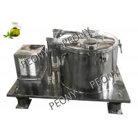 Best CBD Oil Extraction Chemical Basket Centrifuge Equipment Industrial ISO wholesale