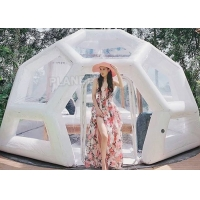 Best Waterproof 0.8mm Inflatable Bubble Tent For Camping Hotel wholesale