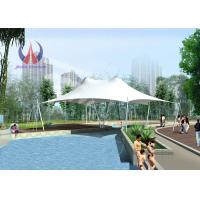Antiaging ETFE Tensioned Membrane Structures Outdoor Exhibition Tents Elegant Shape