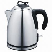 China Stainless steel electric kettles on sale