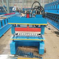 Best Galvanized Widespan Roof Sheet Roll Forming Machine Feeding Width 1219mm wholesale