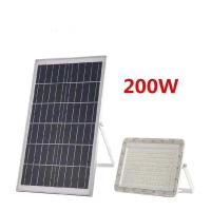 Best Aluminum Body Road Way Lamp All In One 20W 30W 60W 100W 200W Heavy Duty Solar Led Flood Light With Solar Panel wholesale