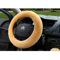 Multi Colors Car Driving Wheel Covers , Decorative Car Steering Wheel Covers