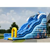 Buy cheap Colorful Inflatable Slide Rental Spiderman Bouncer Slide For Sale from wholesalers