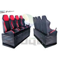 Best Hydraulic / Pneumatic / Electromotive Control System 4D / 5D / 7D Motion Theater Chair wholesale