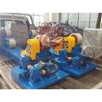 Quality Heavy Duty Pipe Rollers / Pipe Welding Rollers With PU Wheels , 10T Capacity wholesale