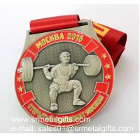 Custom unique metal medals factory in China