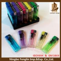 Best Personalized Transparent Flame Refillable Cigarette Lighter For Mens wholesale