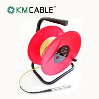 China 30M Water Level Meter Tape HDPE Coating Metal Frame Manual Cable Release on sale