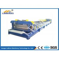 Best Bule And Yellow Color Steel Roll Forming Machine 3kW Hydraulic Unit Motor Power wholesale