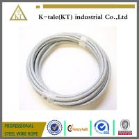 Best Wire Rope and Aircraft Cable/PVC coated steel wire rope wholesale