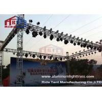 China Outdoor Aluminum Light Truss , Event Concert Alumiunm Speaker Hang Truss on sale