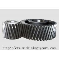 Quality Transmission Double Planetary Helical Gear With CNC Steel Machined wholesale