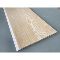 Cheap Yellow Color Waterproof Wood Paneling For Bathrooms Shining Glossy Printing for sale