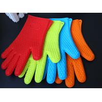 Best Heat Resistant Silicone BBQ Grill Oven Gloves, Silicone BBQ Grill Oven Mitt wholesale