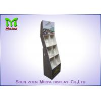 Cheap Eye - Catching Magazines Cardboard Floor Display Stands , Cardboard Book for sale