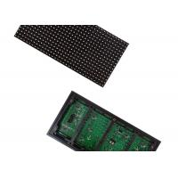 Cheap Green Light LED Display Module 1/4 Scanning , 1920HZ/S Refresh Frequency for sale